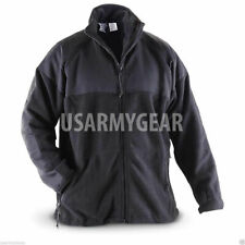 US Army GI PolarTec Black 300 Cold Weather Military Fleece Jacket Shirt S M L XL