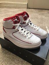 Air Jordan 2 Retro 2008 Countdown Pack White/Red Size 5.5Y 308325-162