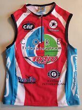 Squadra Core Triathlon Team Sleeveless Jersey Singlet, Size Mens Small