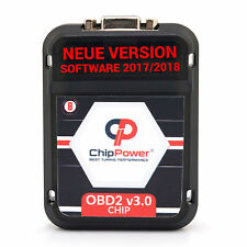 OBD2 v3.0 Chiptuning Ford Kuga II 1.5 EcoBoost 182PS Benzin Box Software 2017/18