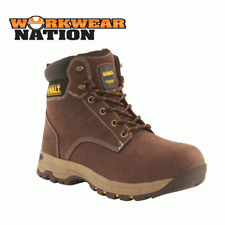 New Dewalt Carbon Nubuck Hiker Workwear Boot Steel Toe Cap Brown