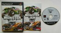 Monster Jam Racing Monster Truck PlayStation 2 PS2 Complete Game Tested Works