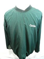 Carlyle XL Jacket Golf Green Lightweight Pullover Coat PGA