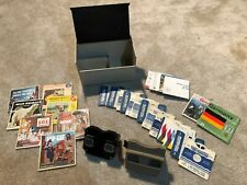 2 Vintage SAWYER'S  View-Masters with Reels and Case - Disney, Zorro, MORE