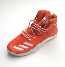 af749c027 Adidas Men B38925 D Rose 7 Boost Primeknit Basketball Shoe Orange White  Size 16