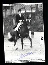 Janm Bemelmans Autogrammkarte Original Signiert Reiten + G 24160