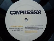 "A Force & Adrian Continental Chaos 12"" vinyl #607"
