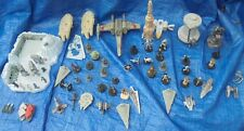 Star Wars Micro Machines & Mini Vehicle Figure Lot Slave 1 Star Destroyer AT-AT