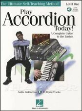 Play Accordion Today 1 Sheet Music Book with Audio Learn How To Play Method