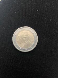 Piece de 2 euros Autriche rare 2002