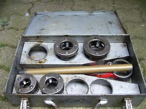 Gewindeschneider Roller central für Stahlrohre 1/2 3/4 1 1 1/4 zoll kluppe