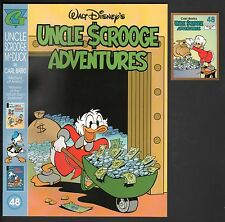 The Carl Barks Library in Color of Walt Disney's Uncle Scrooge 48 NM +Card NM