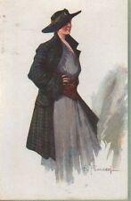 FRANZONI (28-3) donnina con cappello