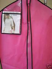 NEW PINK PROM DRESS BAG WEDDING DRESS BREATHABLE STORAGE TRAVEL GARMENT BAG