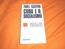 fidel castro cuba e il socialismo editori riuniti 1976