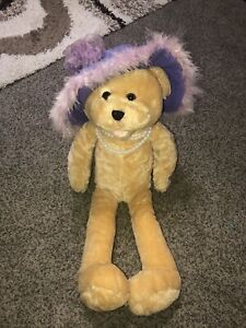 Chantilly Lane Musicals Teddy Bear Pearls Sings That's What Friends Are For 22""