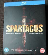 SPARTACUS BLOOD AND SAND GODS OF THE ARENA BLURAY. ENGLISH