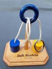 "The Jah Boukie Rope Ring Puzzle - 7"" base with Barrels"