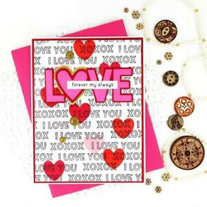 Metal Cutting Dies Love diy Scrapbooking Photo Album Embossing Paper Card Crafts