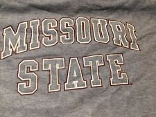 Under Armour Missouri State Univeristy Gray Logo Tech Performance Shirt Men XXL