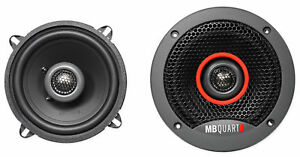 "Pair MB QUART FKB113 5.25"" 180 Watt Car Audio Coaxial Speakers"