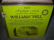 ROSSI / ROSSINI william tell highlights ( classical ) - SEALED NEW -