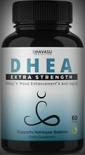 Extra Strength DHEA 50mg -Hormones Immune Energy Metabolism Muscle 60 Day Supply