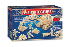 Matchitecture  Mechanical Digger Matchstick Kit