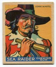 1933 WWG Sea Raider HIGH #26 John Martel TOUGH! Bi Lingual Back