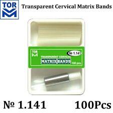 Dental Teeth Crown Transparent Dental Strips Cervical Matrices Matrix TOR VM