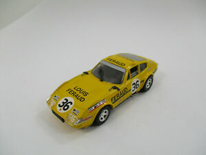 FERRARI 365 GTB-4 #36 LE MANS 1972 TOP MODEL 1/43