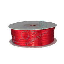 """1/16"""", 1/8"""" Double Faced Satin Ribbons 100% Polyester 100 Yards Roll Wholesale"""