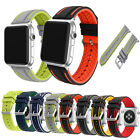 38/42mm Silicone Wrist Replacement Sport Band Bracelet Strap For Apple Watch