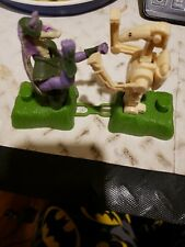 Vintage Star Wars Applause JAR JAR BINKS & Battle Droid Boxing Toy HTF