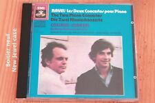 Ravel - Les 2 concertos Piano - Collard - Maazel - Boitier neuf - CD EMI