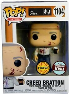 """Pop Television The Office 3.75"""" Figure Exclusive - Creed Bratton #1104 Chase"""