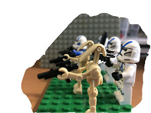 figurine lego star wars set 75280 501st legion clone trooper