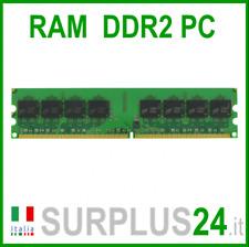Memoria RAM 2GB DDR2 (1x 2GB) DDR2 667 240 pin DDR2 PC2-5300U 667Mhz No Ecc