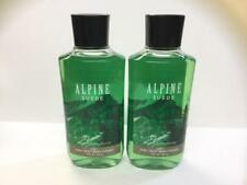Lot of 2 Bath and Body Works ALPINE SUEDE 2 in 1 Hair & Body Wash for men