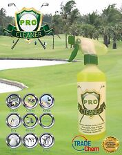 PRO GOLF Equipment Cleaner-Club, Palle, BAG, TROLLEY, ruote, Scarpe da 500ml