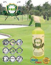 PRO GOLF Equipment Cleaner-Club, Palle, BAG, TROLLEY, ruote, Scarpe da 500ml