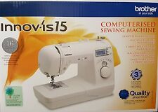 Brother Innovis NV15  Sewing Machine  FREE NEXT DAY + LESSONS  +3 YEAR WRTY