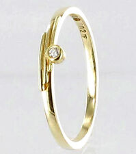 585/- ECHT GOLD *** Diamant Brillant Ring  Gr. 56  (18)