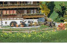 Faller 180406 HO 1/87 4 Clôtures pour prés et jardins, 2360 mm