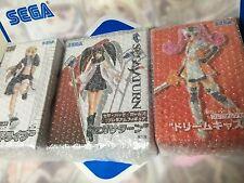 ★ SEGA HARD GIRLS Premium Figure x 3 Set ★ MEGADRIVE ★ SATURN ★ DREAMCAST ★