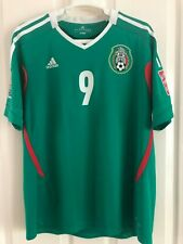 ADIDAS MEXICO SOCCER JERSEY HOME WOMAN WC 2012 IN JAPAN RARE ITEM #9 #HUERTA