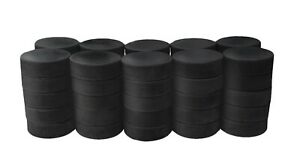 Ice hockey pucks, game or practice, lot of 50