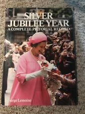 Silver Jubilee Year Complete Pictorial Record 1977 Hardcover Book Serge Lemoine