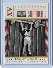 AWESOME 2012 PANINI AMERICANA TOMMY KONO CARD #29 ~ OLYMPIC WEIGHTLIFTING HAWAII