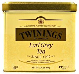 Black tea Twinings Earl gray, 100 g